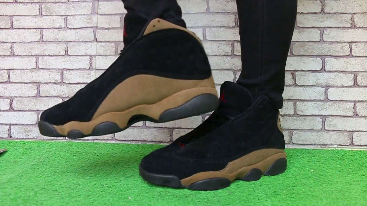 "942030750717e1 Air Jordan 13 ""Olive"" - YouTube"