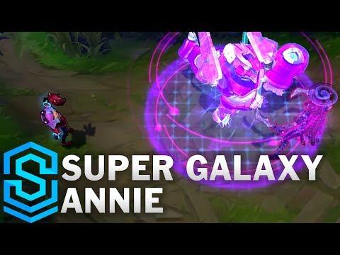 Super Galaxy Annie Skin Spotlight - League of Legends