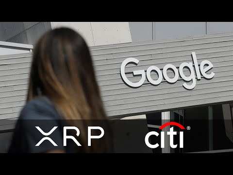 Google Banks With Citi Group. Citi Bank Is Ready For Crypto. Ripple Ties With Citi Bank For Years?🐻