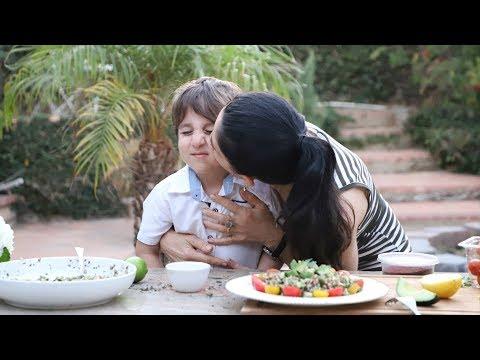 Արտակարգ Համեղ Դիետիկ Աղցան Հում Հնդկաձավարով - Heghineh Cooking Show In Armenian
