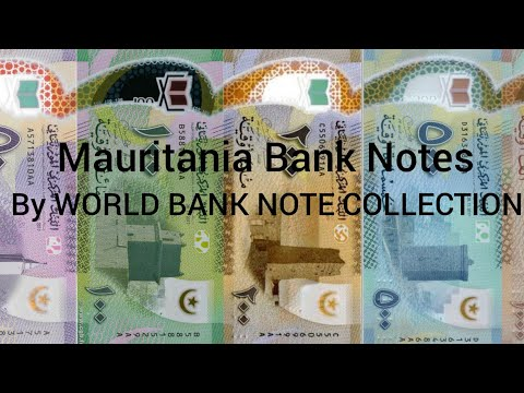 Mauritania Bank Notes | WORLD BANK NOTE COLLECTION |