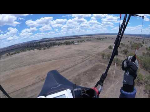 Paragliding Low Save January 2017