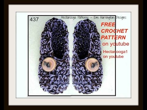 How To Crochet Adult Slippers Chunky Adult Slippers Free Pattern