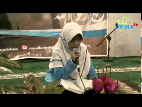 Qoriah cilik Nafisatul Mila - Al Fath 27 - 28 & Adh Dhuha 1-11, Isra Miraj Masjid Al Hurriyah 1436 H