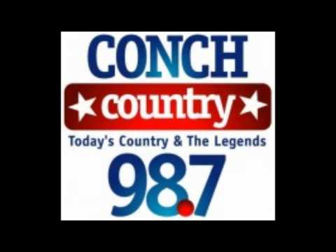 Tiny shoutout on 98.7 Conch Country