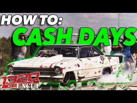 Behind the Scenes - Filming CASH DAYS w/ Street Outlaws!