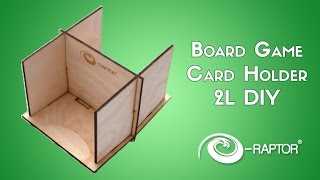 Board Game Card Holder - 2l Diy | E-raptor