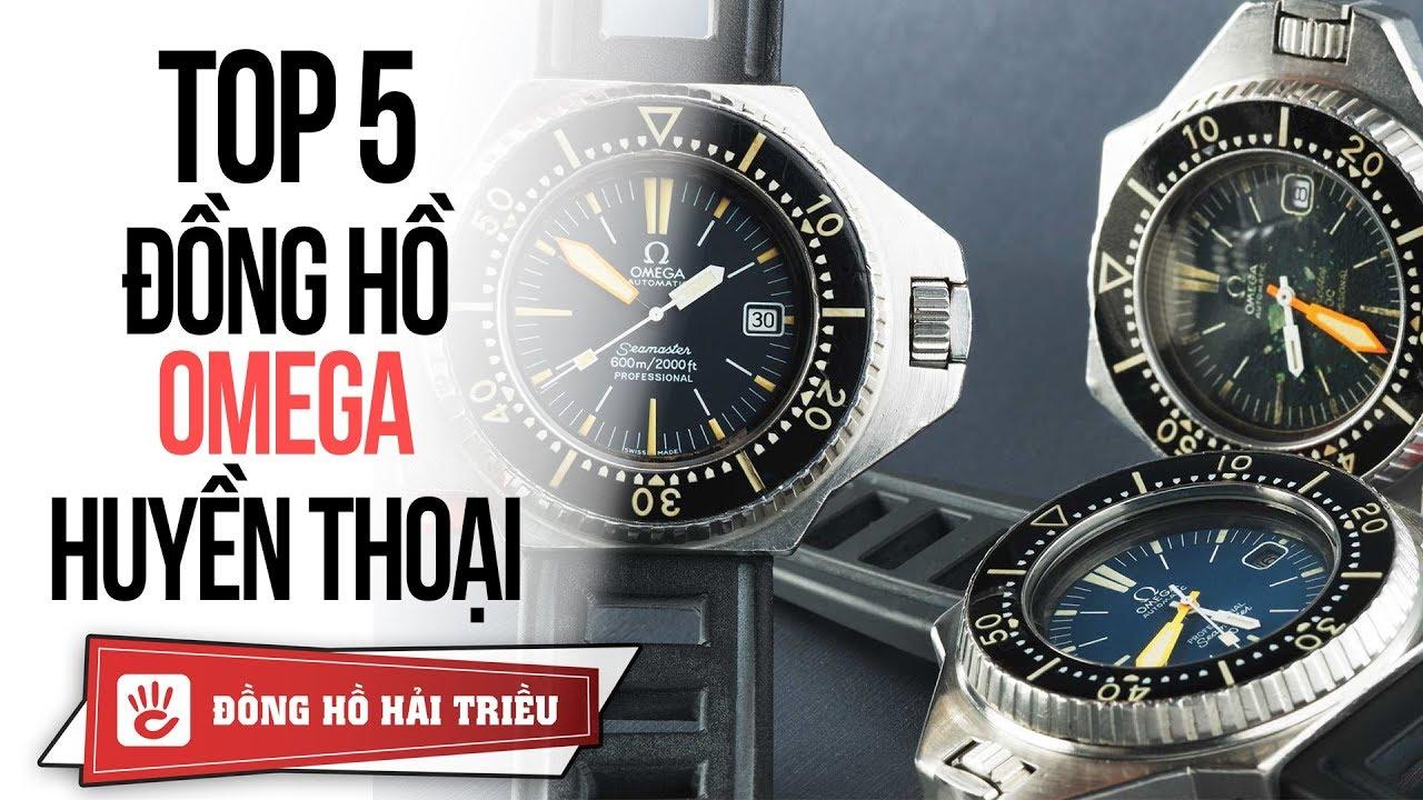 Top 5 mẫu đồng hồ đưa thương hiệu OMEGA vươn tầm hàng đầu thế giới