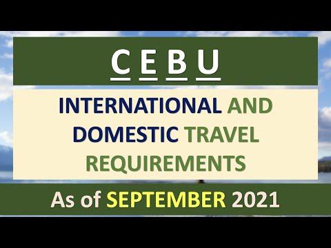 CEBU TRAVEL REQUIREMENTS - SEPTEMBER 2021 | CEBU CITY, CEBU
