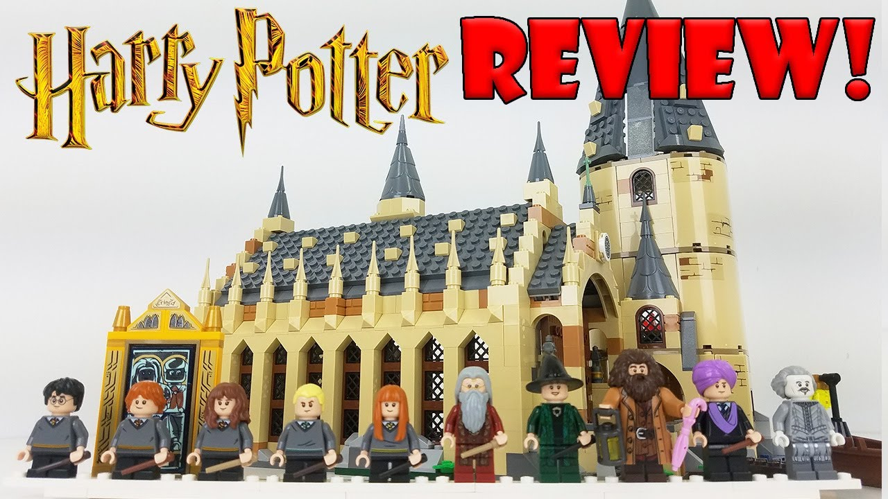 LEGO Harry Potter 75954 Wizarding World Hogwarts Great Hall New 2018