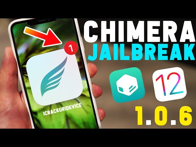 Jailbreak New iOS 12 A12 Chimera Update! Pre iOS 12 3