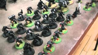 Black Templars army in the rough ($750)- Blue Table Painting