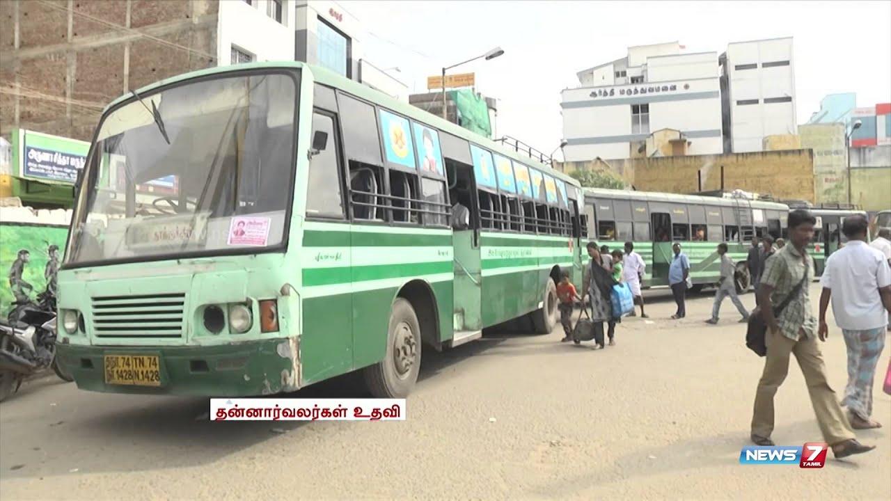 Bus strike: Volunteers help ply buses between Kovilpatti & Tuticorin