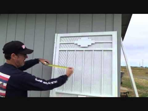 Instructions For Installing Folding Screen Door From Bunnings