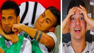 YEDEK KULÜBESİNDEKİ KOMİK ANLAR (Ronaldo, Neymar, Alves)