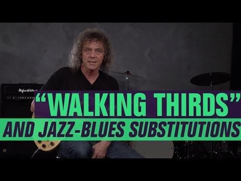 Walking Thirds and Jazz-Blues Susbstitutions with Jimmy Brown