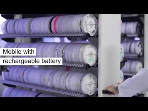 Cluso Invman Smt Reel Storage Solution Youtube