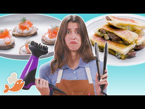 Can This Chef Cook A 3-Course Meal With Hair Tools? • Tasty
