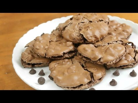 Gluten Free Chocolate Cookies | 5 Ingredients
