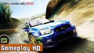 Colin McRae Rally 2005 Gameplay (PC HD)