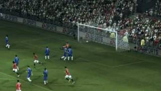 Fifa 09 Free Kick Tutorial for Xbox 360 and PS3