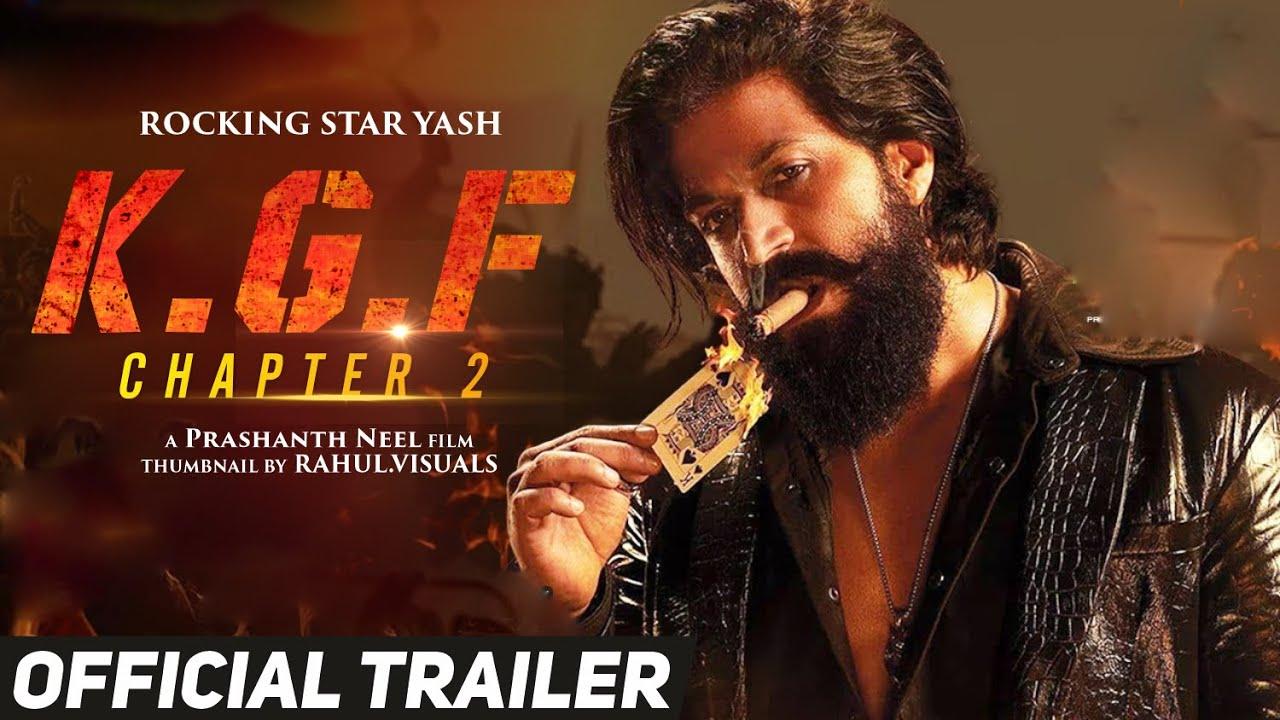 KGF 2 Trailer KGF Chapter 2 Trailer KGF 2 Official trailer kgf chapter 2  official trailer - YouTube