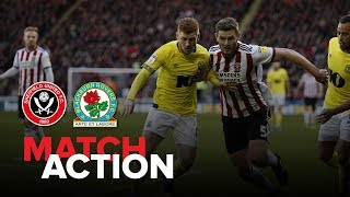 Blades 3-0 Blackburn - match action
