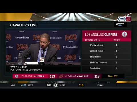 Tyronn Lue full postgame press conference after Cavs