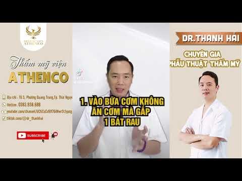 CÁCH GIẢM CÂN CỦA BÁC SĨ | Tiktok dr_thanhhai