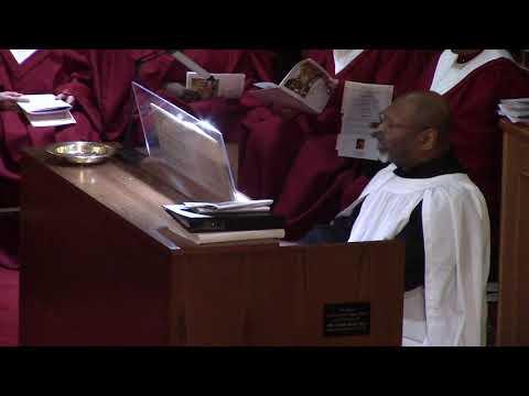 Organ Postlude, Dr  Keith Hampton, St Thomas Episcopal Church, Chicago, Jan 7, 2018