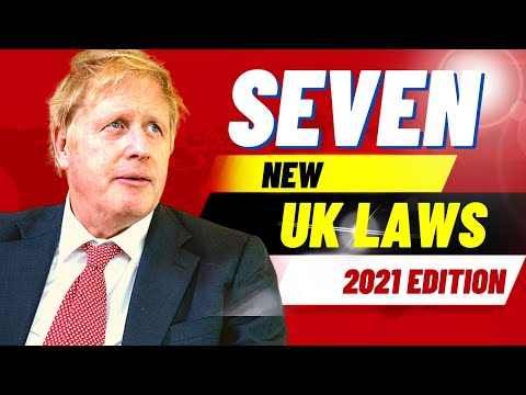 7 NEW UK LAWS YOU SHOULD BE AWARE OF THAT COME INTO EFFECT IN JANUARY 2021 - NEW LEGISLATION