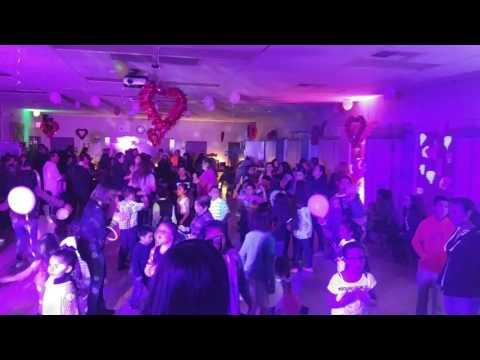 www.charliedjandlighting.com Valentine's Dance 2017 @ Parkridge Elementary School, Corona, Calif.