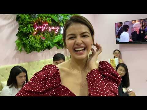 JANINE Gutierrez, Sobrang Hands-On Sa Kanyang NAIL SALON Business! MASAYA Kahit Sumasakit Ang Ulo!