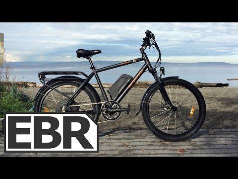 Rad Power Bikes RadCity Video Review - Sturdy City Commuter Ebike with Regen