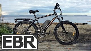 Rad Power Bikes RadCity Video Review - Sturdy City Commuter Ebike with Regen