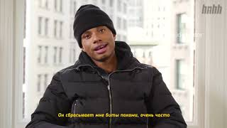 "Night Lovell Talks ""Goodnight Lovell"" (HNHH Interview 2019) / перевод интервью Night Lovell на HNHH"