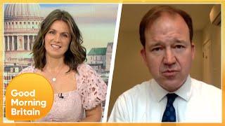 Susanna & Adil Challenge MP On Boris Johnson's Opinion Of Matt Hancock & New Quarantine Plans | GMB