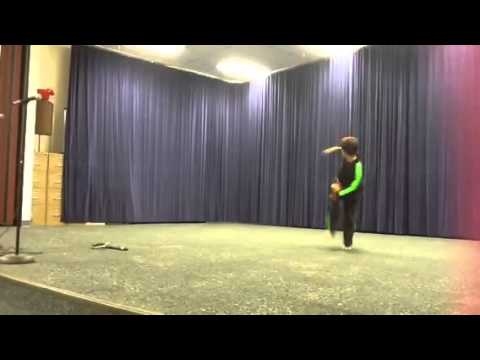 Keeley Elementary School Talent Show-Kyle Scritchfield 8 yr old