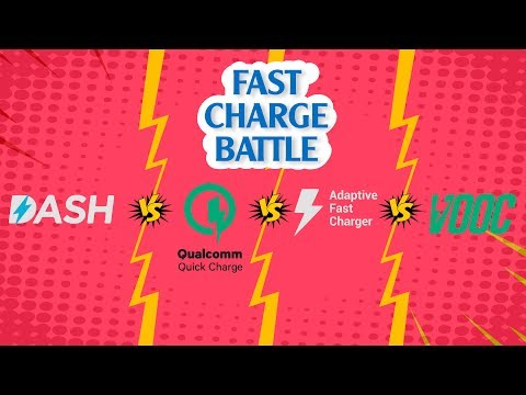 VOOC charging Vs Dash Charging Vs Adaptive fast charge Vs Quick Charge 3.0