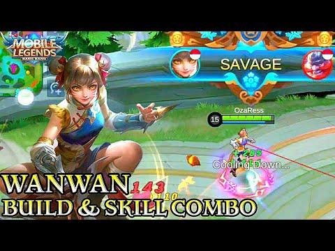 Wanwan Build & Skill Combo - Mobile Legends Bang Bang