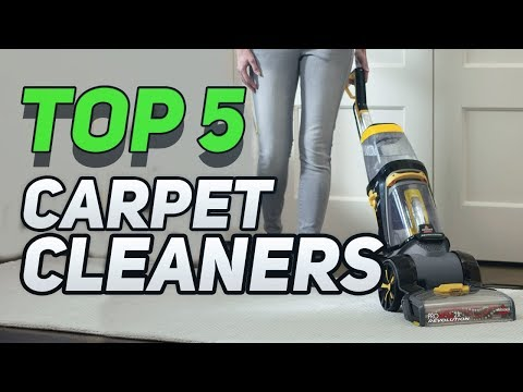 ▶️ Top 5  Best Carpet Cleaners You Can Buy In 2018