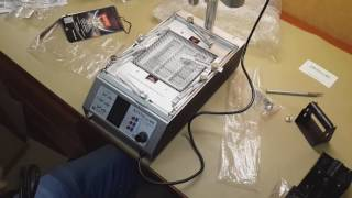 Нижний подогрев Aoyue int866 с воздушным феном для ремонта телефонов, планшетов(, 2016-07-19T10:23:51.000Z)