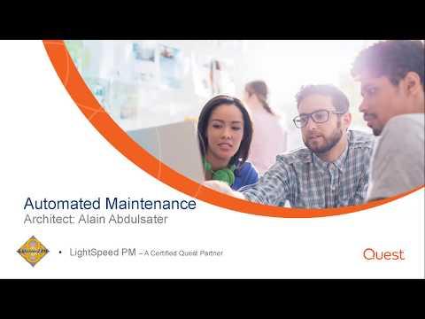 Automated Maintenance