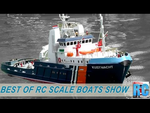 BEST OF RC SCALE MODEL BOATS - ASK SHOW 2015 - WOHLEN, SWITZERLAND