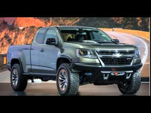 2017 Chevy Colorado With Rockstar Wheels