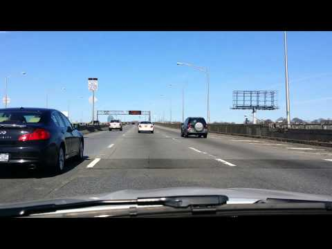 Driving Into Manhattan from Long Island Express Way (Route 495)