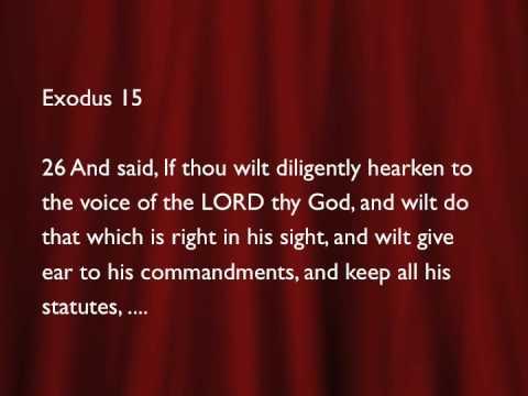 Healing Scriptures Part 5 (Pastor David Oaks)