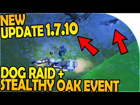 NEW UPDATE 1.7.10 - DOG RAID + STEALTHY OAK EVENT - Last Day On Earth Survival 1.7.10 Update