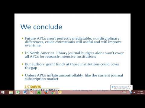 The Cost of Open Access to Journals: Pay It Forward Project Findings
