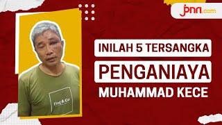 5 Tersangka Penganiayaan Muhammad Kece - JPNN.com